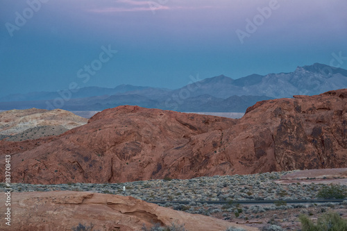 Foto op Plexiglas Diepbruine Valley of Fire 24