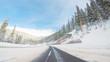 Quadro Mountain pass
