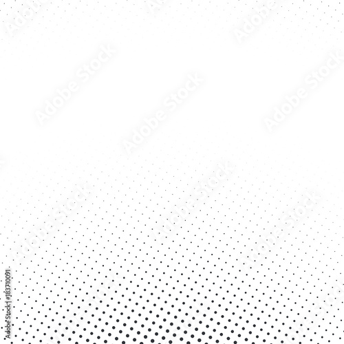 Staande foto Pop Art Vector abstract dotted halftone template background. Pop art dotted gradient design element. Grunge halftone textured pattern with dots.