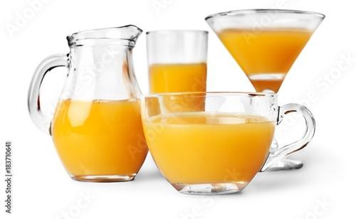 Papiers peints Jus, Sirop Orange Juice