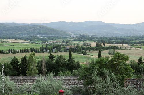 Deurstickers Khaki Italien - Toscana