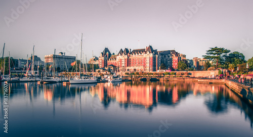 Foto op Canvas Canada View of Inner Harbour of Victoria, Vancouver Island, B.C., Canada