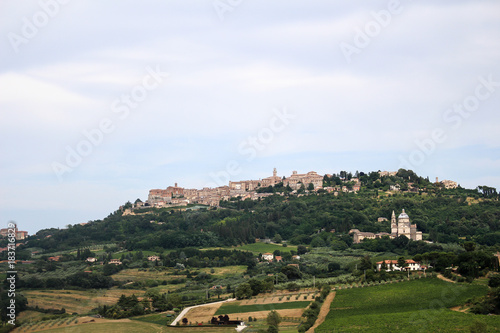Staande foto Wit Italien - Montepulciano