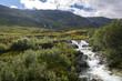 cascata nei dintorni di Haugesund in Norway - 183728447
