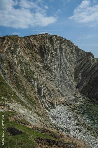Foto op Canvas Grijs Lulworth & Dorset Coastline, England, UK
