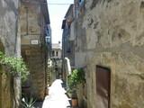 Pretty Alley of Pitigliano, Tuscany, Italy