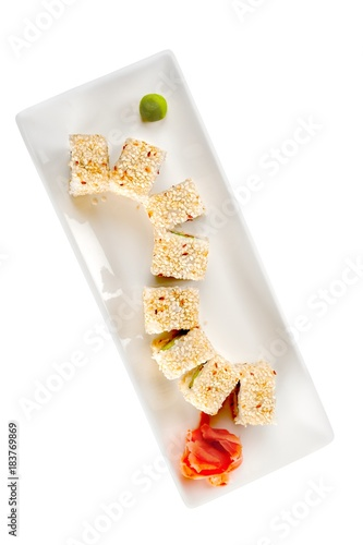 Plexiglas Sushi bar Japanese Cuisine - Maki Sushi