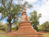 Pagoda in a temple - 183780803