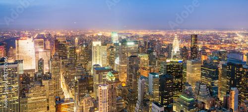 Foto op Aluminium New York New York City lights at night