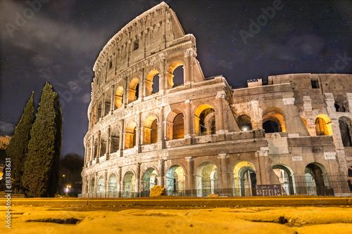 Foto op Canvas Rome El Coliseo de Roma
