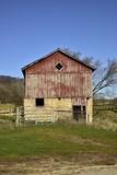Farm Land Barn on Sunny Day - 183820250