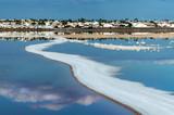Salty lake of Torrevieja. Spain