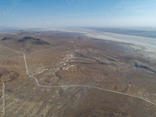 Foto op Aluminium Blauwe jeans Aerials over Nevada Roads