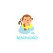 Beach Logo Vector - 183870236