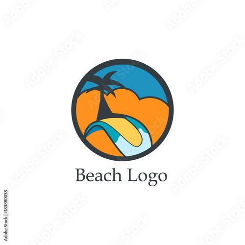 Beach Logo - 183880038