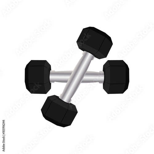 Abstract sport gym