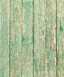 old wooden boards painted with blue paint - 183917245