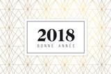 Fototapety Bonne année 2018