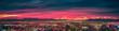 Leinwanddruck Bild - early morning sunrise over valley of fire and las vegas