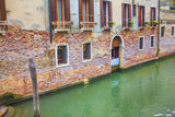 venetian canal and architecture - 183934273