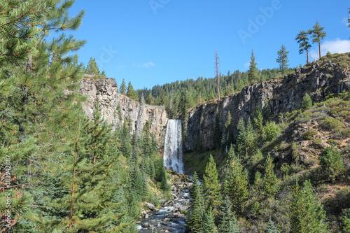 Plexiglas Olijf Waterfall