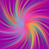 Abstract bright and colorful swirl lines background. - 183944025