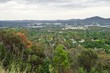 Panoramic view of the city of Canberra in the Australia Capital Territory (ACT), Australia - 183946830