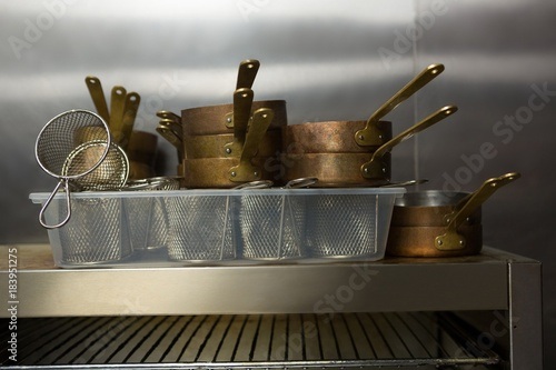 Sticker Close-up of kitchen utensils