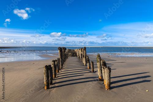 Plexiglas Noordzee Strandpanorama auf Spiekeroog