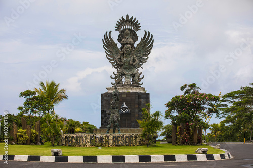 Tuinposter Bali Stone sculpture of demon in Denpasar, Bali