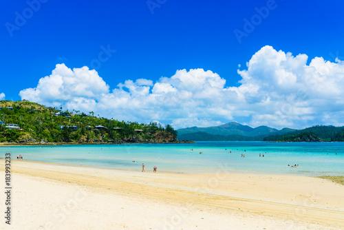 Poster Tropical strand Catseye beach on hamilton island