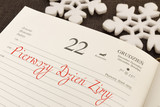 Zima. Pierwszy dzień zimy. 22 grudnia. Początek kalendarzowej zimy. - 183996410