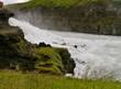 Küste am Wasserfall Gullfoss - 184003262