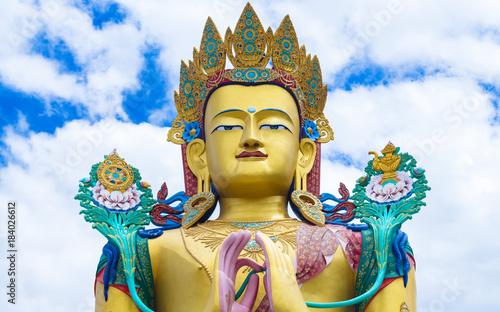 Foto op Aluminium Boeddha Maitreya Buddha in Nubra valley in Ladakh - Leh Ladakh India