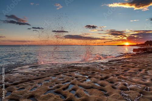 Plexiglas Strand Cyprus Coast