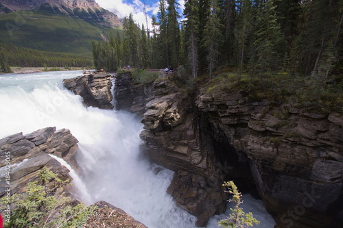 Foto op Canvas Canada Athabasca Falls in Jasper National Park
