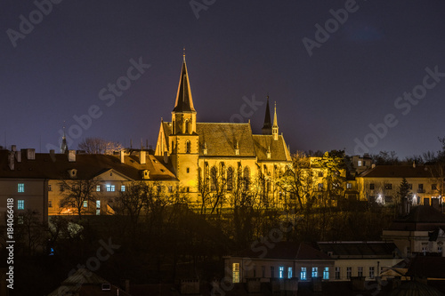 Tuinposter Praag Scenic view of historical center Prague