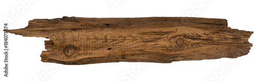 Old planks isolated on white. - 184075874