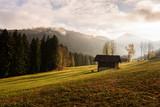 Ein typischer Herbsttag in der Schweiz