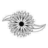 flower sticker vector illustration - 184102095