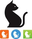 Sitting Cat Icon
