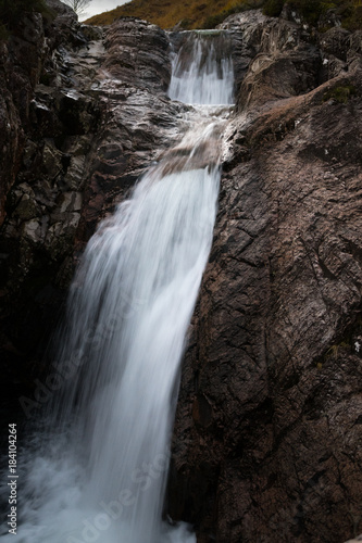 Glencoe waterfall - 184104264