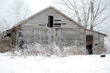 Old abandoned farmhouse - 184105663