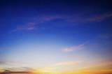 beautiful twilight sky background - 184112633