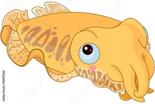 Poster Sprookjeswereld Cuttle Fish