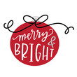 Merry & Bright Bauble