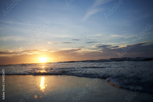 Poster Zee zonsondergang South Carolina Pics