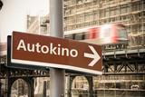 Schild 302 - Autokino - 184124065