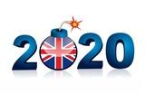 british crisis - year 2020 - countdown - 184131429