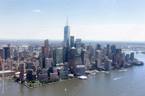 Aluminium New York High resolution view of New york city - United states of America